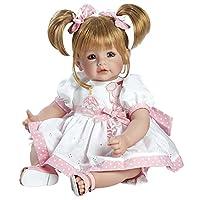 "Adora Toddler Happy Birthday Baby 20"" Girl Weighted Doll Gift Set for Children 6+ Huggable Vinyl Cuddly Snuggle Soft BodyToy"