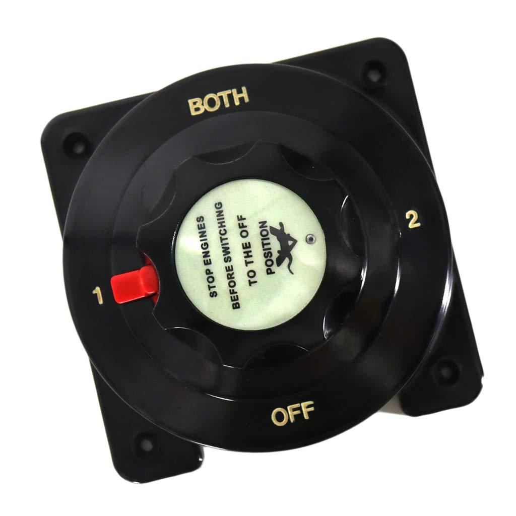 kesoto 1-2-ambos-OFF Interruptor De Bater/ía Interruptor De Bater/ía 6V 12V 24V 32V Para Barco Cami/ón Coche Moto Tractor Autob/ús RV Yate 175 300A