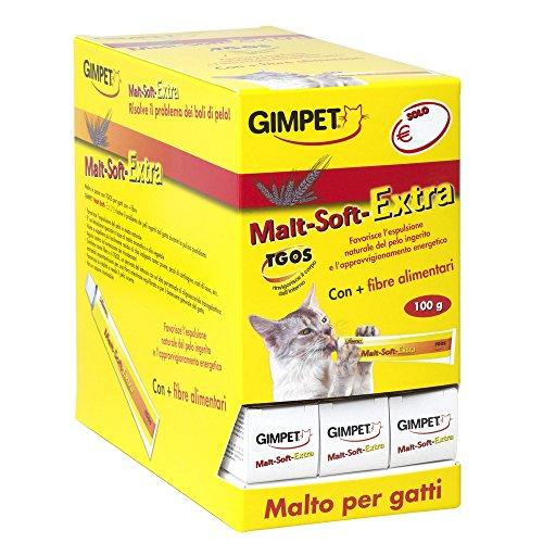 GIMPET Malta Extra Soft - malta pasta gr 100 - Comida especial de gatos