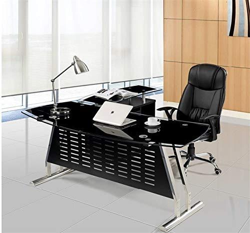 Grupo SDM Mesa despacho Oficina Oval, Mueble a Derecha, Cristal ...
