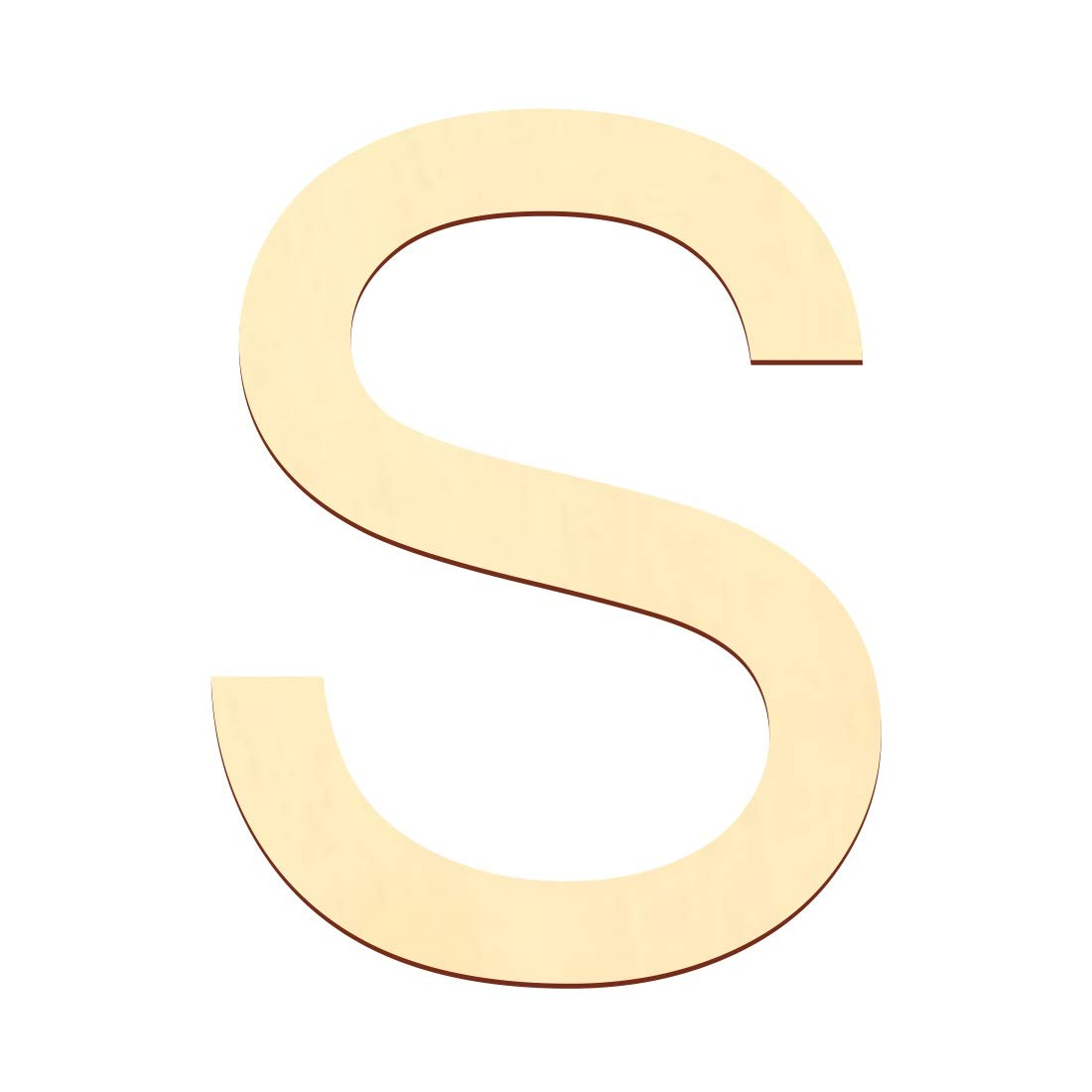 Wunschtext//Schriftzug mit Gr/ö/ßenauswahl Arial B/ütic GmbH Holz Buchstaben Gr/ö/ße:5cm Buchstaben:gro/ßes A