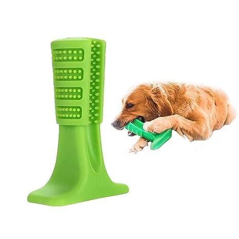 G-Hawk® Perro Cepillo de Dientes Palo Juguete de Seguridad Goma Perro Diente Cepillado
