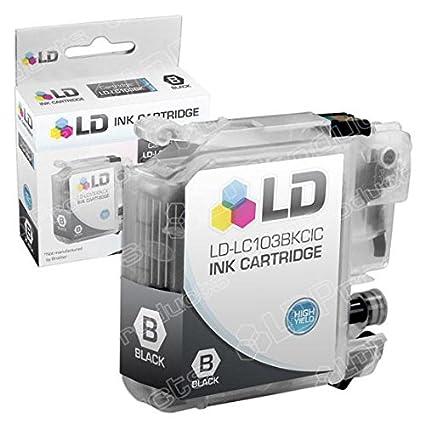 DS LC103 XL LC103BK negro impresora alto rendimiento cartucho de ...