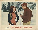 "Get Yourself a College Girl 1964 Authentic 11"" x 14"" Original Lobby Card Joan O'Brien Comedy"