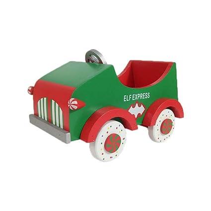 Weihnachten Auto Aus Holz Ornament Kreative Auto Mit Hellen
