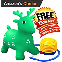 Ruffio Inflatable Bouncer - #1 Rated Cutest Bouncy Hopper...