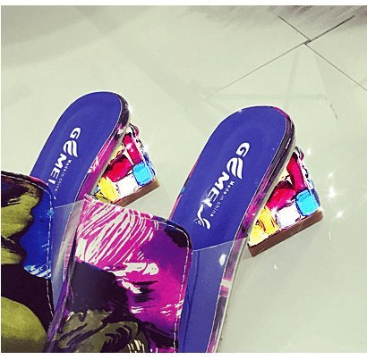 3 femmina col alto Shoes pantofole nbsp; tacco XXM AqgYxn