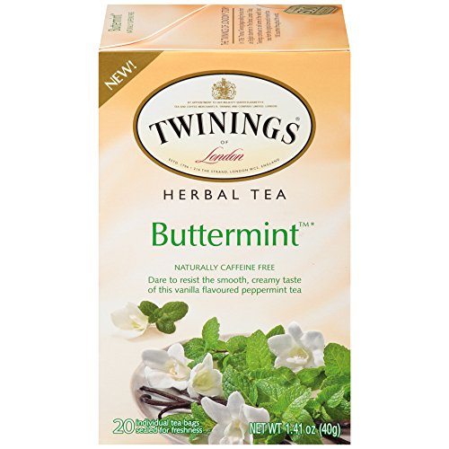Twinings of London Buttermint Herbal Tea Bags, 20 Count (6 ()