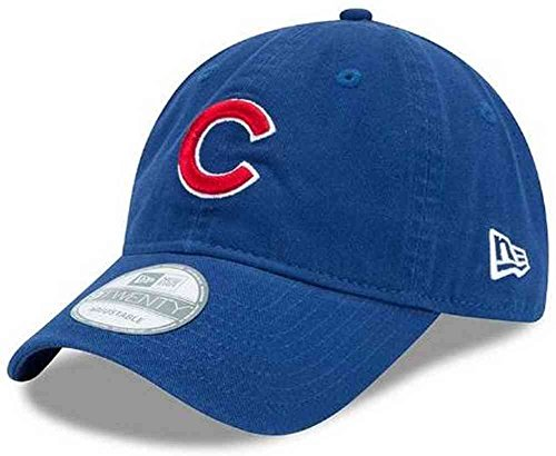 - MLB Chicago Cubs Cotton Adjustable Cap, Blue/red