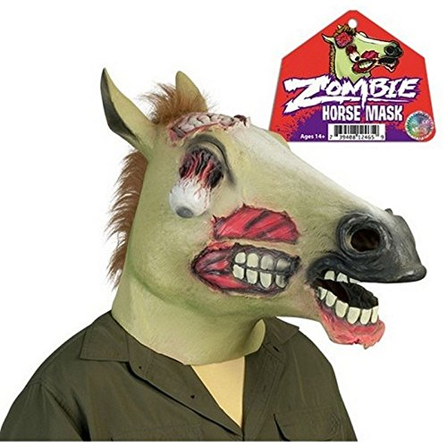 Creepy Zombie Horse Mask