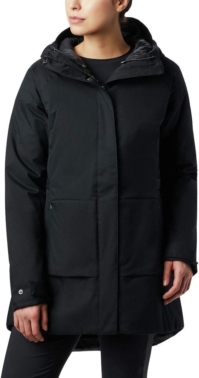 Columbia 哥伦比亚  Autumn Rise 防水 女式中长款连帽保暖棉服 XL码1.7折$30.86 海淘转运到手约¥307