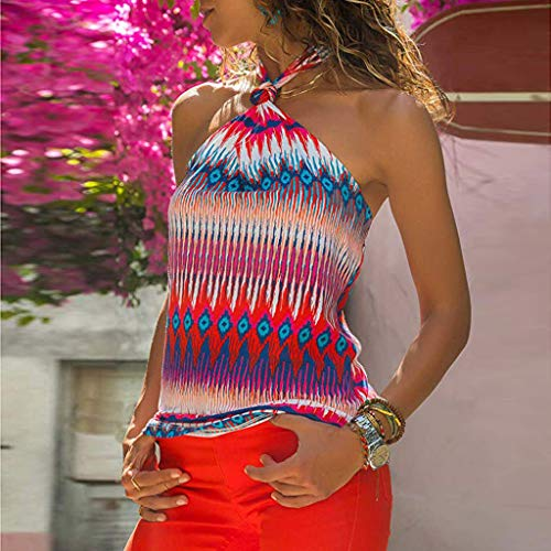 Style Casual Manches nbsp;femmes Pendaison Sans Cou National T Rétro Bellelove Pour Rose Dames Chemisier Tops vêtements shirt TRIqwxgE