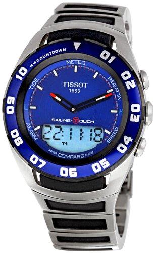 Tissot Reloj Analógico-Digital para Hombre de Cuarzo con Correa en Acero Inoxidable T056.420.21.041.00: Amazon.es: Relojes