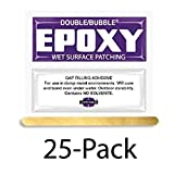 Hardman Double Bubble ''Purple-Label'' Wet-Surface & Underwater Setting Epoxy 25 Packs (#04003)