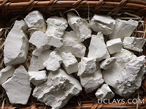 Uclays Kaolin Edible Clay Chunks (lump) Natural for Eating (Food), 4 oz (113 g) (Foods To Eat To Get Pregnant Easily)