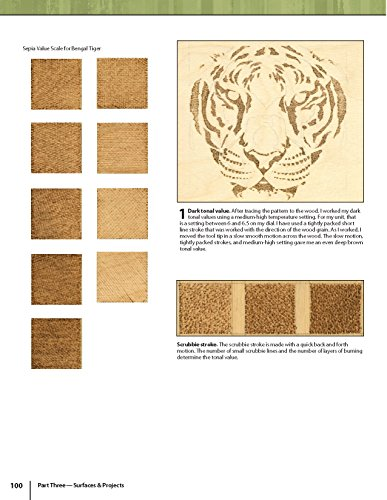 The Art & Craft of Pyrography: Drawing with Fire on Leather, Gourds, Cloth, Paper, and Wood (Fox Chapel Publishing) More Than 40 Patterns, Step-by-Step Projects, and Expert Advice from Lora S. Irish by Design Originals (Image #5)