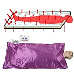 Ejoyous Digital Sauna Blanket, Far Infrared Heat Sauna Slimming Blanket Detox Therapy Machine