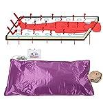 Ejoyous Digital Sauna Blanket, Far Infrared Heat Sauna Slimming Blanket Detox Therapy Machine