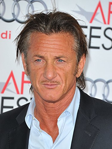 Sean Penn At Arrivals For The Secret Life Of Walter Mitty Premiere At Afi Fest 2013 Presented By Audi Print (16 x 20)