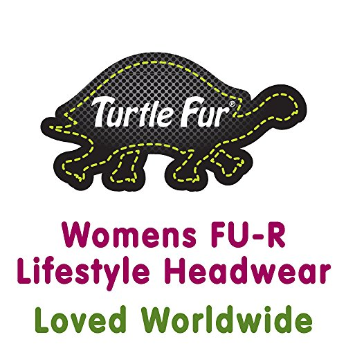 Turtle Fur Lifestyle Green Thumb Mittens, Women's Wide Rib Knit Gloves, Black