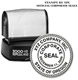 CORPORATE SEAL (WITH ROPE BORDER) // CUSTOMIZED / PERSONALIZED CORPORATE SEAL (STAMP) // (SUPERIOR TO iSTAMP) PROFESSIONAL CORPORATE SEAL [secretary/board resolutions/minutes]