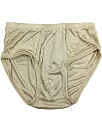 Pure Silk Knitted Men's Briefs