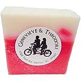 Raspberry Rush LUXE Bar Soap by Soapie Shoppe