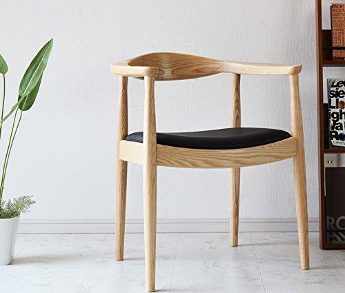 ABCインテリア ザチェアー the Chair ナチュラル(NA) リプロダクト品 デザイナーズ ハンスJウェグナー 食堂 ダイニングチェアー ザチェアー ミッドセンチュリー 北欧 イス パーソナルチェア 椅子 B071P1RRJQ ナチュラル(NA) ナチュラル(NA)