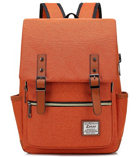 Travel Outdoor Computer Backpack Laptop bag (Orange) - 9