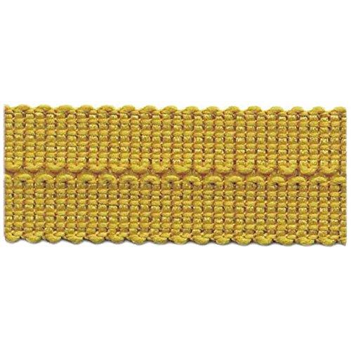 S.I.C. SIC-2303 ポリエステルニットバインダーテープ 7×7mm C/#10 黄土色 1巻(30m)