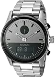 Nixon Men's A932131 Duo Analog-Digital Display Swiss Quartz Silver Watch