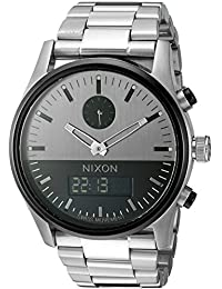 Nixon Men's The Duo Gunmetal