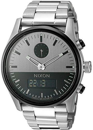 Nixon Men's A932131 Duo Analog-Digital Display Swiss Quar...