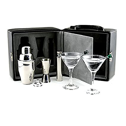 Superior Franmara Martini Travel Bar Set With Case