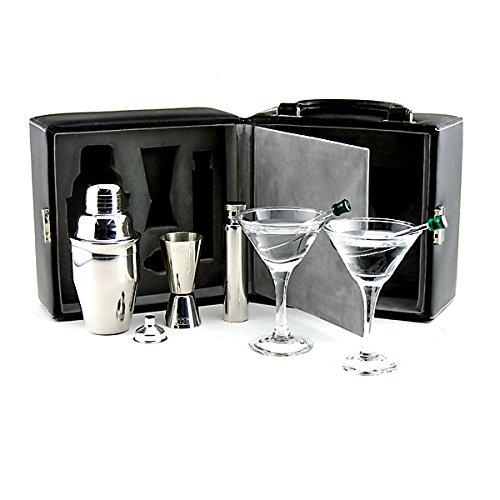 Amazon.com: Franmara Martini Travel Bar Set With Case: Barware Tool Sets:  Kitchen U0026 Dining