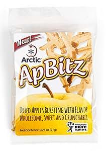 Arctic ApBitz Dried Apple Snacks – 0.75 oz (Pack of 12) – Preservative Free