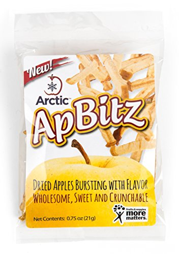 Arctic ApBitz Dried Apple Snacks – 0.75 oz (Pack of 12) – Preservative Free by Arctic Apples