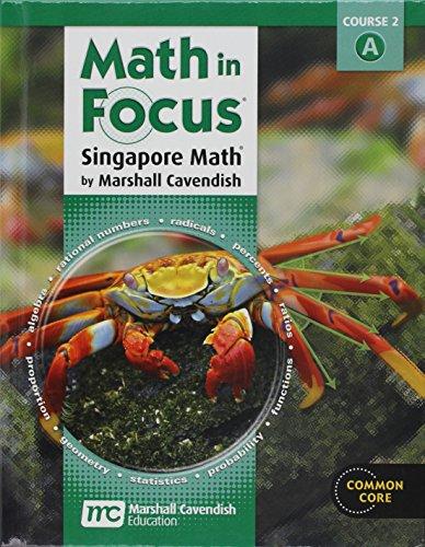 Math in Focus: Singapore Math, Student Edition Grade 7 Volume A