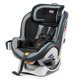 Image of Baby Chicco NextFit Zip Air Convertible Car Seat, Azzurro