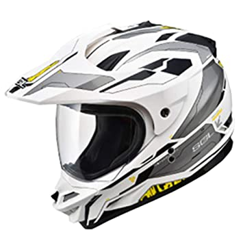 XC Casco De Moto De Carreras De Motocicletas con Casco Completo, Compuesto De Carretera De