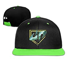 Galaxy Diamonds Dude Perfect Boys & Girls Adjustable Hip-hop Baseball Cap Red