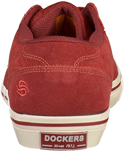 42WA801 45 Bordeaux Sneakers Dockers Herren EU 7qSd7w