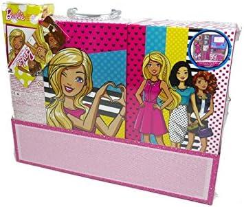 Amazon.es: Barbie- Uper Pack Estuche con Luz y Maquillaje con Muñeca, Color Rosa (Markwins Beauty Brands 9730710): Juguetes y juegos