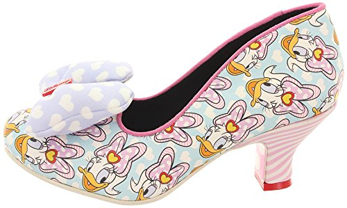 Irregular Choice - Zapatos de vestir de Piel para mujer Mint Multi