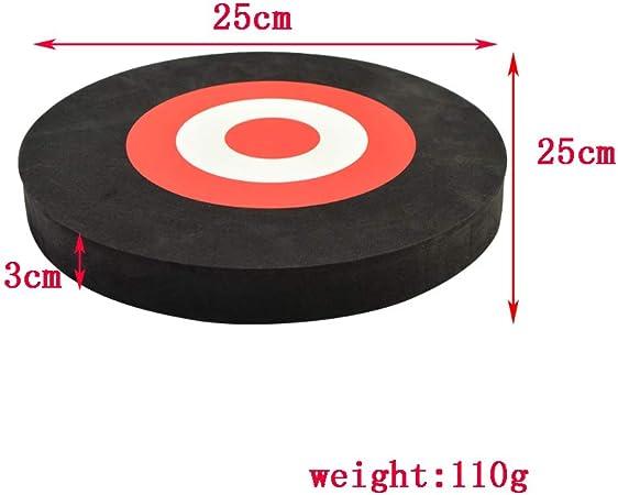"EVA Foam Arrow Target 3D Archery Board Round Moving Circle Practice Shoot 10x1/"""