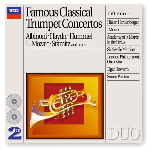 Famous Classical Trumpet Concertos (2 CDs) (Philips Philips Cd)