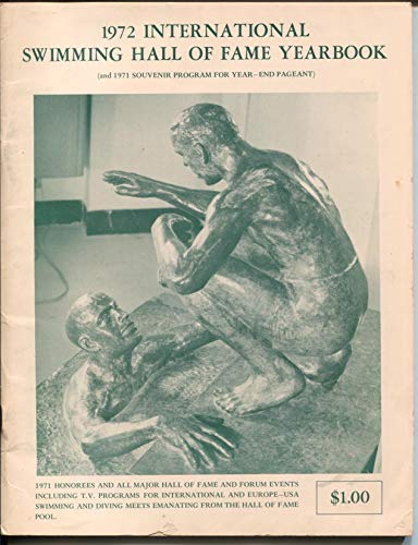 In'l Swimming Hall Of Fame Yearbook 1972-Johnny Weissmuller-Bster Crabbe-VG (Hall Yearbook Of Fame)