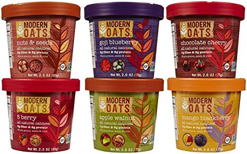 Modern Oats All Natural Oatmeal Cups - Variety Pack - 2.6 oz - 12 pk by Modern Oats