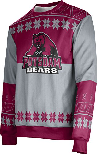 Adult State University of New York at Potsdam Ugly Holiday Jingle Sweater