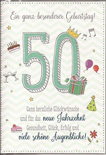 Gluckwunsch Zum 50 Geburtstag Ein Ganz Besonderer Geburtstag